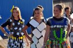 Environmental-friendly fashion show at the PBG Group's Picnic