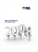 Annual Report 2008 of the PBG Capital Group